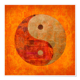 Póster  Yin y Yang - Andrea Haase