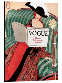 Cuadro de aluminio  Vogue vintage - Advertising Collection
