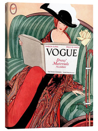 Lienzo  Vogue vintage - Advertising Collection