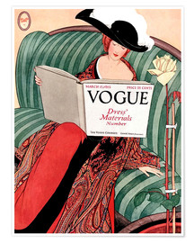 Póster  Vogue vintage - Advertising Collection