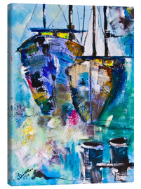 Lienzo  coloured Boats - Diana Linsse
