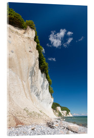 Cuadro de metacrilato  Chalk Cliffs in the National Park Jasmund on Ruegen - Markus Ulrich