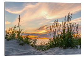 Aluminio-Dibond  Beach of the Baltic Sea during Sunset - Markus Ulrich