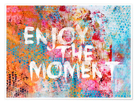 Póster Enjoy the moment