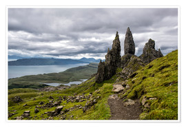 Póster Old Man of Storr, Isle of Skye, Scotland