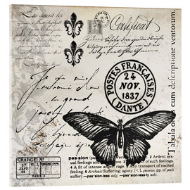 Metacrilato  Vintages Butterfly - Andrea Haase