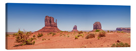 Lienzo  Monument Valley USA Panorama I - Melanie Viola