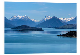 Cuadro de PVC  Lake Wakatipu, View direction Glenorchy (New Zealand) - Christian Müringer