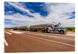 Cuadro de metacrilato  Road Train Australia - Thomas Hagenau