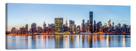 Lienzo  New York - Midtown Manhattan Skyline - Sascha Kilmer