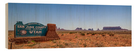 Madera  Monument Valley USA Panorama III - Melanie Viola