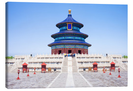Lienzo  Temple of Heaven in Beijing - Jan Christopher Becke