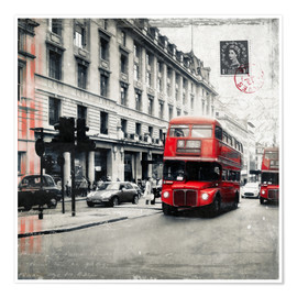 Póster Postcard From London | 03