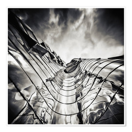 Póster Gehry Duesseldorf | 03 (monochrome)
