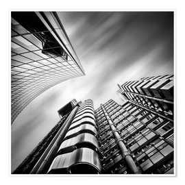Póster Lloyds London | 01 (black/white)