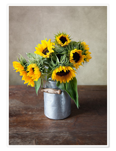 Póster Sunflowers 02