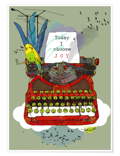 Póster I choose Joy