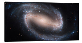 Cuadro de aluminio  Barred Spiral Galaxy NGC 1300 - Stocktrek Images