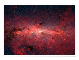 Póster  The center of the Milky Way - Stocktrek Images