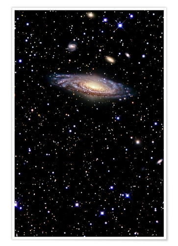 Póster Spiral galaxy in the constellation Pegasus