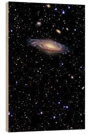 Cuadro de madera  Spiral galaxy in the constellation Pegasus - R Jay GaBany