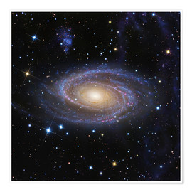 Póster Bode's Galaxy