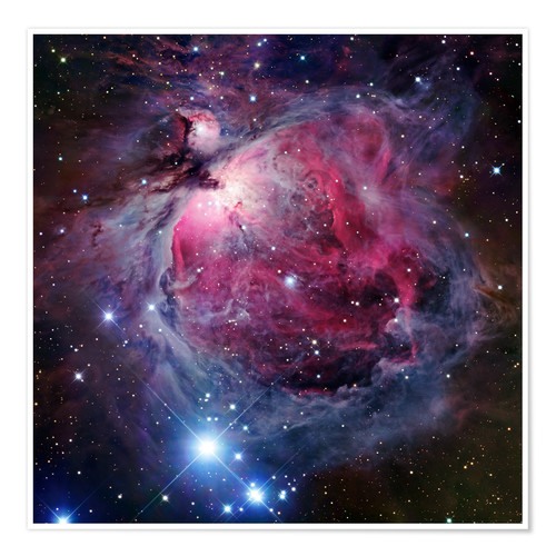 Póster The Orion Nebula