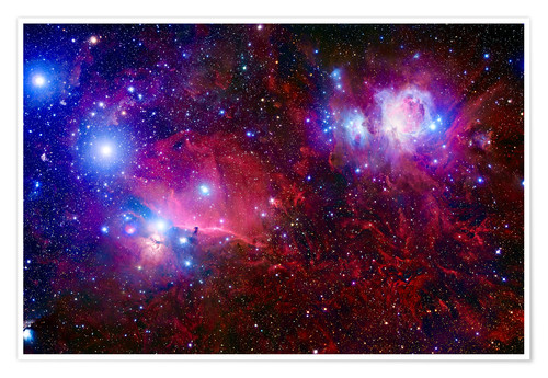 Póster The Belt Stars of Orion