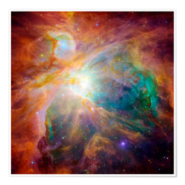Póster  The Orion Nebula - Stocktrek Images
