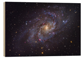 Cuadro de madera  The Triangulum Galaxy - Roth Ritter