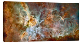 Lienzo  The central region of the Carina Nebula - Stocktrek Images