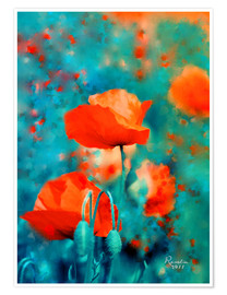 Póster Poppies