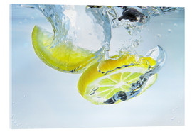 Cuadro de metacrilato  lemon splash - Silvio Schoisswohl