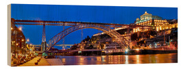 Madera  Porto Portugal, bridge Dom Luis - Fine Art Images