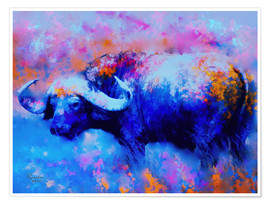Póster Cape Buffalo