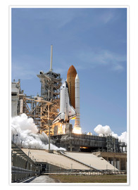 Póster  Space shuttle Atlantis - Stocktrek Images