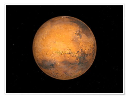 Póster Planet Mars