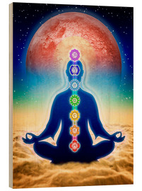 Madera  In Meditation With Chakras - Red Moon Edition - Dirk Czarnota