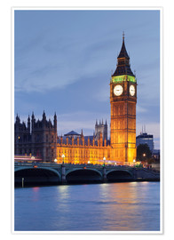 Póster  Big Ben, London - Markus Lange