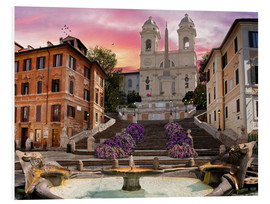 Forex  Piazza Di Spagna with the Spanish Steps - Dominic Davison