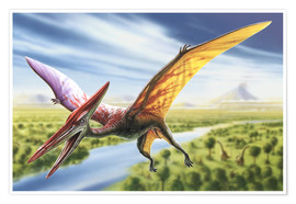 Póster  Pterodactyl - Adrian Chesterman