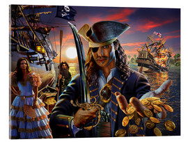 Cuadro de metacrilato  The pirate - Adrian Chesterman