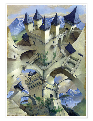 Póster Castle of illusion