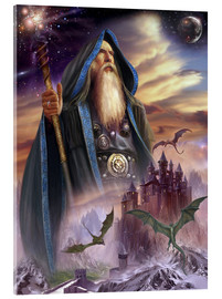 Cuadro de metacrilato  The high Mage - Dragon Chronicles