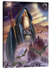 Lienzo  The high Mage - Dragon Chronicles
