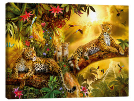 Lienzo  Jungle Jaguars - Jan Patrik Krasny