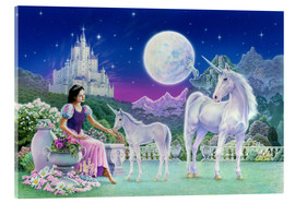 Metacrilato  Unicorn Princess - Feeding foal - Robin Koni