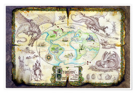 Póster  Dragons of the world - Dragon Chronicles