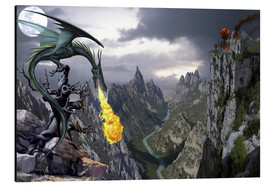 Cuadro de aluminio  Dragon valley - Dragon Chronicles