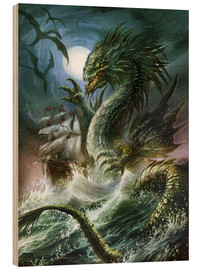 Madera  The sea serpent - Dragon Chronicles